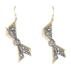 Alexis Bittar Origami Bow Earrings